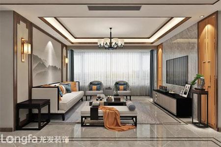 竞技宝ios下载安装装饰190平方新中式风格设计作品|一花一世界,一叶一菩提竞技宝app苹果下载主题